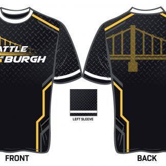 Battle in the Burgh Sublimated SS shirt (Design #2)
