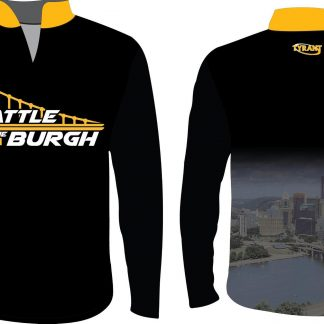 Battle in the Burgh Sublimated 1/4 Zip