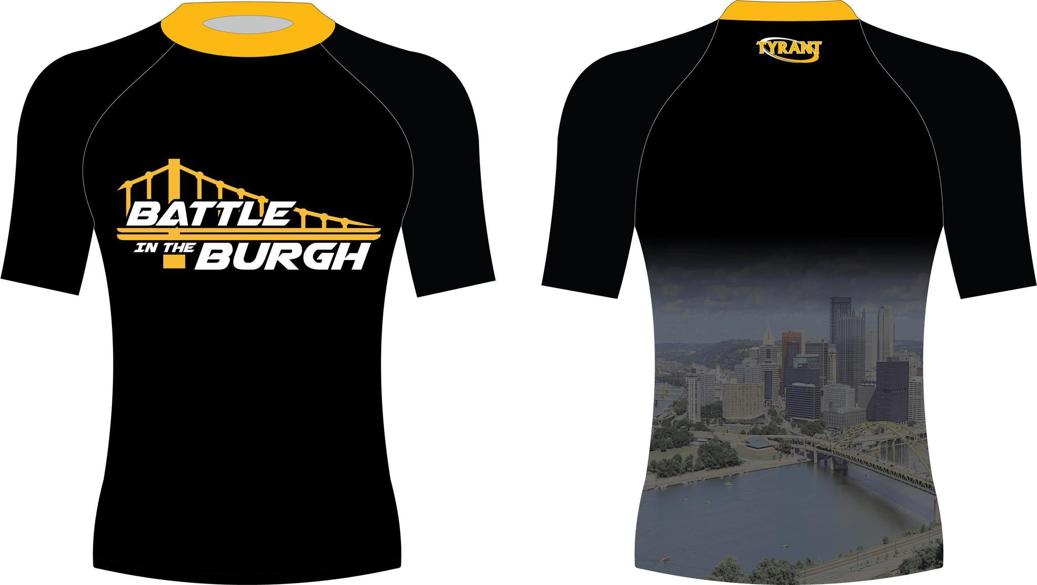 Battle in the Burgh Sublimated SS Shirt