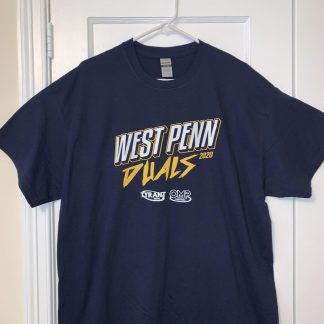 WPD Pressed SS Cotton Tee - Navy